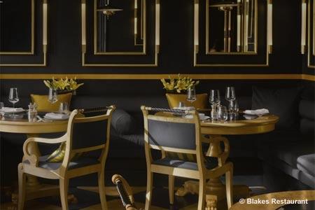 Blakes Restaurant, London, UK