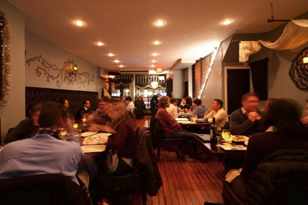 Dining room at Blossom, New York, NY