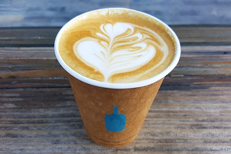 San Francisco's famous Blue Bottle Coffee has branched out with several locations in Los Angeles.