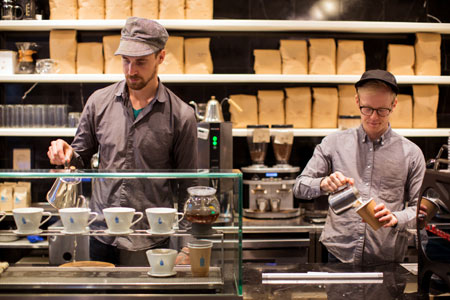 Blue Bottle Coffee, New York, NY