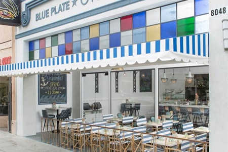 THIS RESTAURANT IS CLOSED Blue Plate Oysterette, Los Angeles, CA
