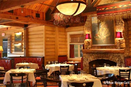 Blue Ridge Grill seeks international ground made distinctive with Southern culinary touches.
