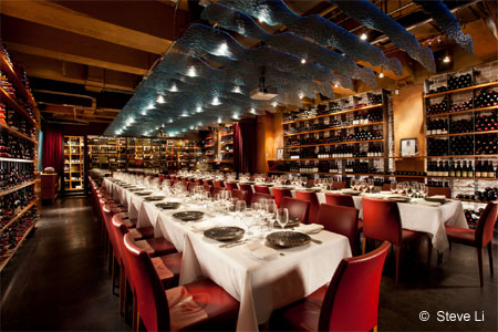 Vancouver destination for fresh, innovative and meticulously prepared seafood.