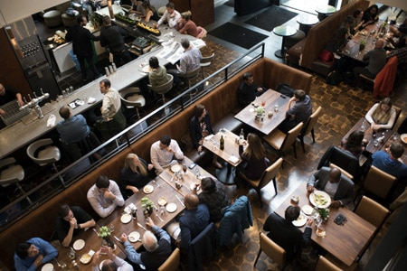 Dining Room at Bluestem Brasserie , San Francisco, CA