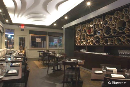 Bluestem restaurant serves contemporary American fare in Kansas City
