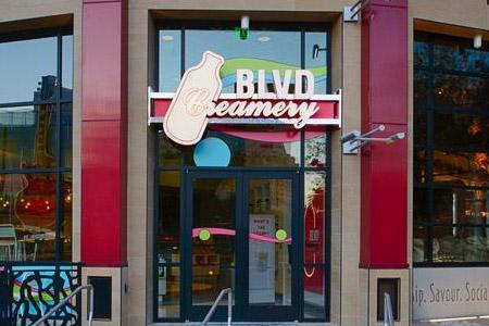 THIS RESTAURANT IS CLOSED BLVD Creamery, Las Vegas, NV