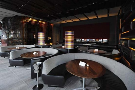 Dining Room at BOA Steakhouse, West Hollywood, CA