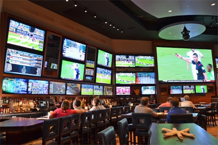 Bobby V's Restaurant & Sports Bar in Windsor Locks, Connecticut is one of GAYOT's Top 10 Sports Bars in the U.S.