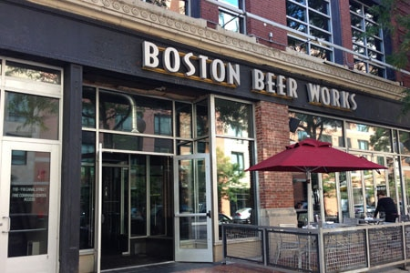 Boston Beer Works, Boston, MA