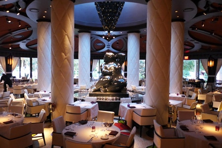 Dining Room at Botero, Las Vegas, NV
