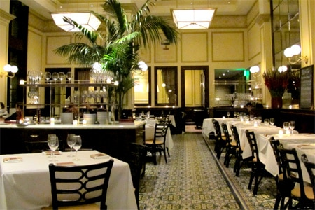 Dining Room at Bouchon, Beverly Hills, CA