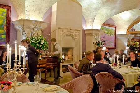 Dining room at Bouley, New York, NY