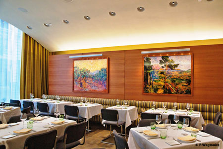 Dining room at Boulud Sud, New York, NY