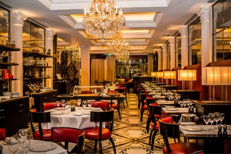 Eric Chavot has returned to London dining with this brasserie in The Westbury Hotel