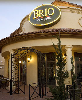 Dining Room at Brio Tuscan Grille, Las Vegas, NV