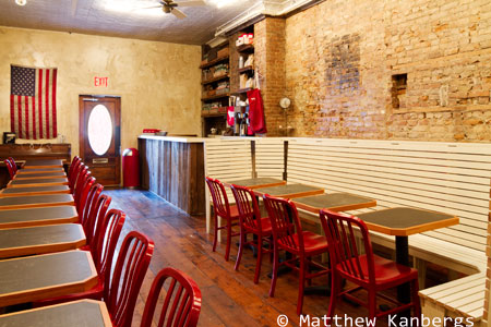 Dining Room at BrisketTown, Brooklyn, NY
