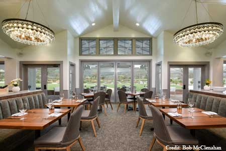 Dining Room at Brix, Napa, CA