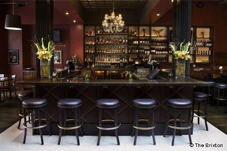 Dining Room at The Brixton, San Francisco, CA