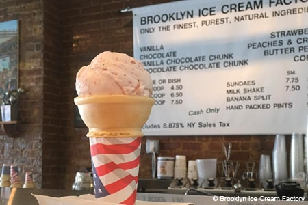 Brooklyn Ice Cream Factory, Brooklyn, NY