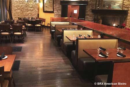 Dining Room at BRX American Bistro, Great Falls, VA