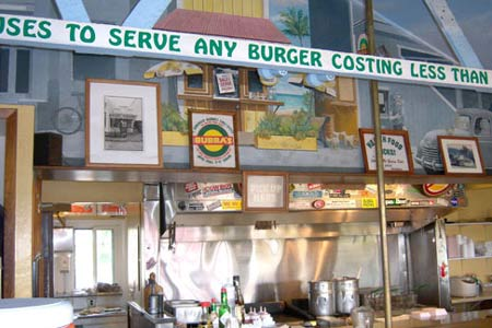 Dining Room at Bubba Burgers, Kapaa, HI