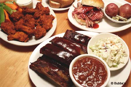 Bubba's Barbecue serves some of the best bbq in Jackson Hole, Wyoming