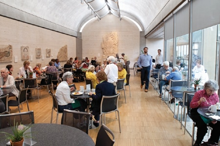 Priceless art, stunning architecture and tasteful food are the draws at the Buffet at the Kimbell.