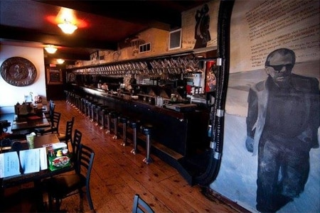 Bukowski Tavern is one of the best happy hour spots in Boston