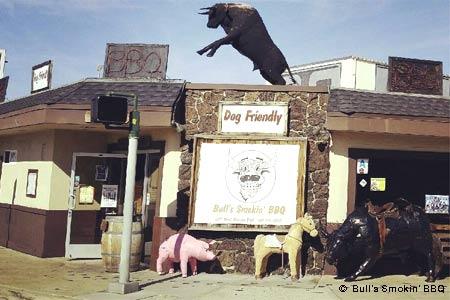 Bull's Smokin' BBQ, San Diego, CA