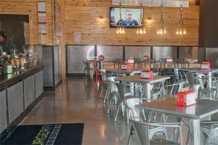 THIS RESTAURANT IS CLOSED BurgerFi, Atlanta, GA