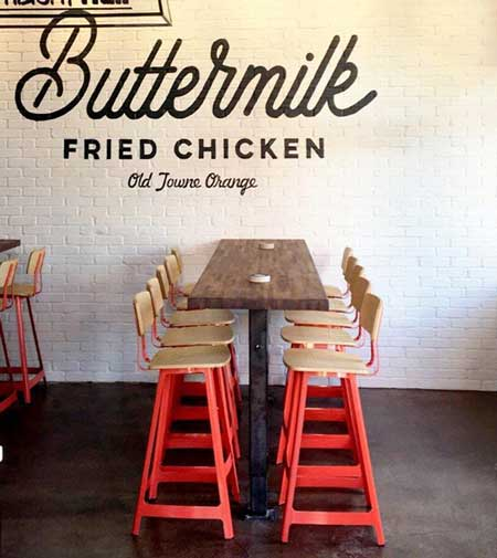 Buttermilk Fried Chicken, Orange, CA