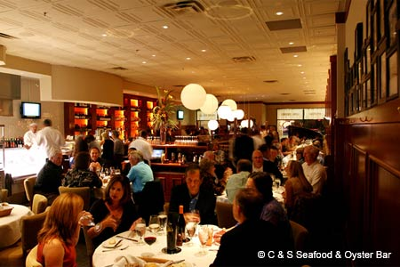 Dining Room at C & S Seafood & Oyster Bar, Atlanta, GA