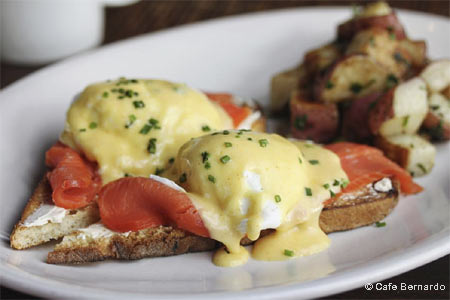 Celebrate Mother's Day with a special brunch at Cafe Bernardo in Davis, California