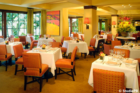 Dining room at Café Boulud, Palm Beach, FL