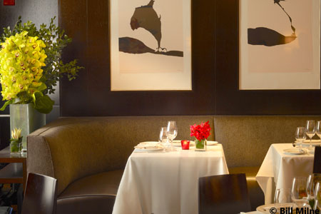 Dining Room at Café Boulud, New York, NY