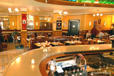 Dining Room at Café d