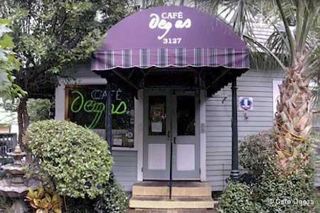 Cafe Degas, New Orleans, LA