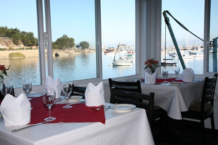 Head to Fisherman's Wharf to enjoy Cafe Fina, one of GAYOT's Best Seafood Restaurants in Monterey/Carmel
