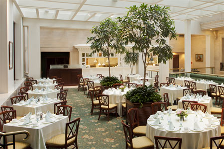 Enjoy a special Easter brunch at Cafe Fleuri restaurant in Boston