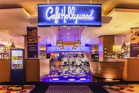 Dining Room at Café Hollywood, Las Vegas, NV