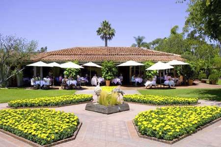 Café Jardin restaurant in Corona del Mar