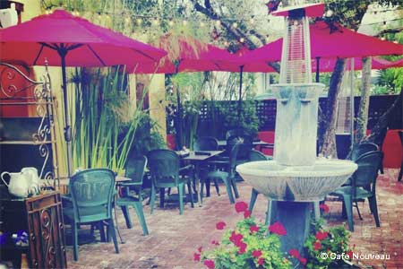 Cafe Nouveau is one of GAYOT's Best Outdoor Dining Restaurants in Ventura