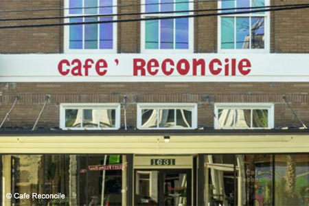 A worthy mission and Creole specialties are on the menu at Café Reconcile.