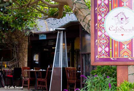 Cafe Secret, Del Mar, CA