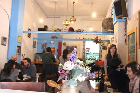 Caffe Kaymak, Tel Aviv, israel