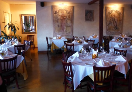 Dining Room at Caffe Pinguini, Playa Del Rey, CA