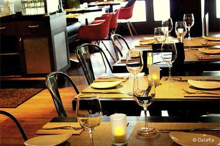 Dining Room at Calafia Cafe & Market A-Go-Go, Palo Alto, CA