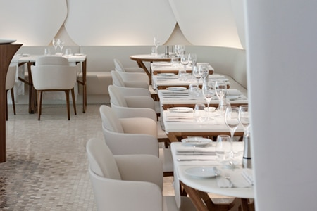Dining Room at Camelia, Paris,