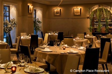 Dining Room at Campton Place Restaurant, San Francisco, CA