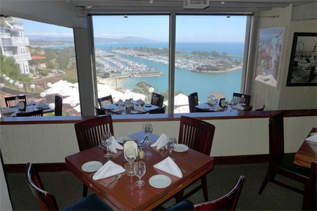Dining Room at Cannons Seafood Grill, Dana Point, CA
